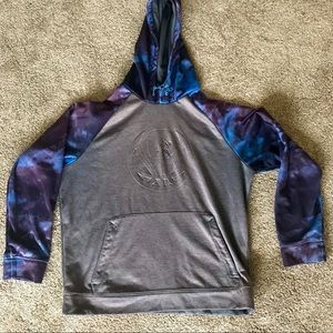 And1 Boys grey basketball hoodie with space dye